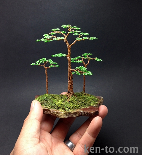 Wire Bonsai Tree by Ken-To